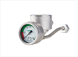 Special Performance of the Diaphragm Pressure Gauge in the Use