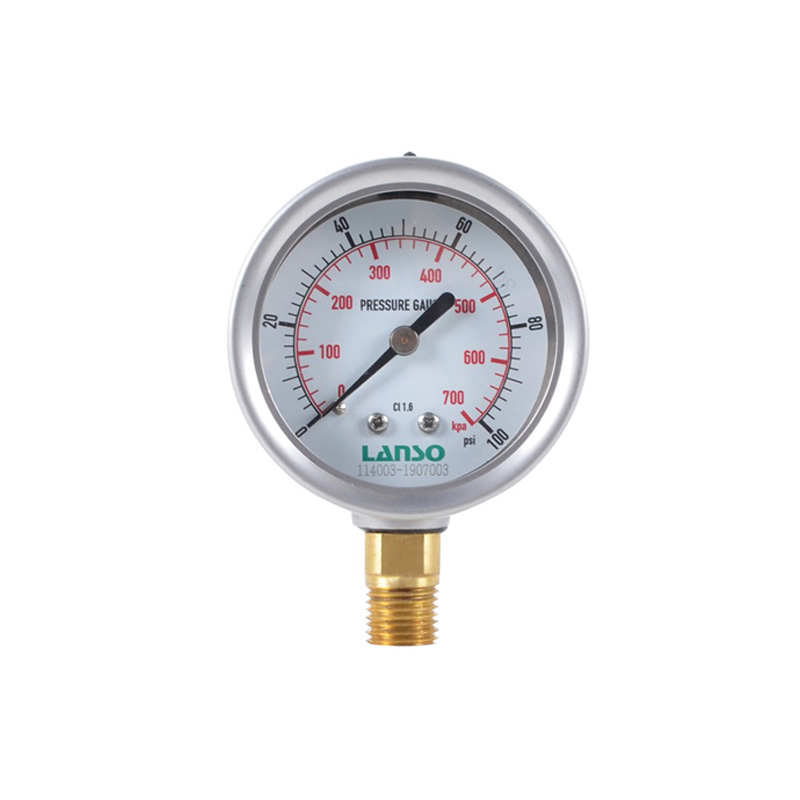 B12.ST Steel-Copper Pressure Gauge