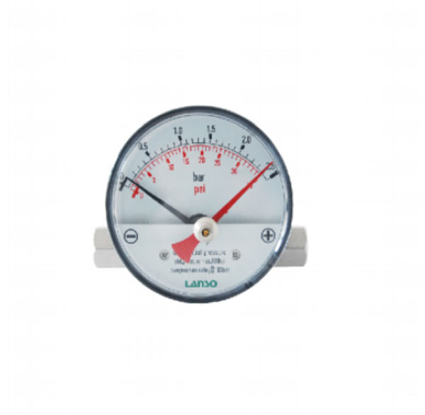 Magnetic Piston Type Differential Pressure Gauge