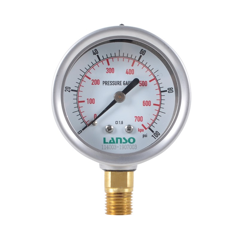 B12.ST Steel-Copper Pressure Gauge 1