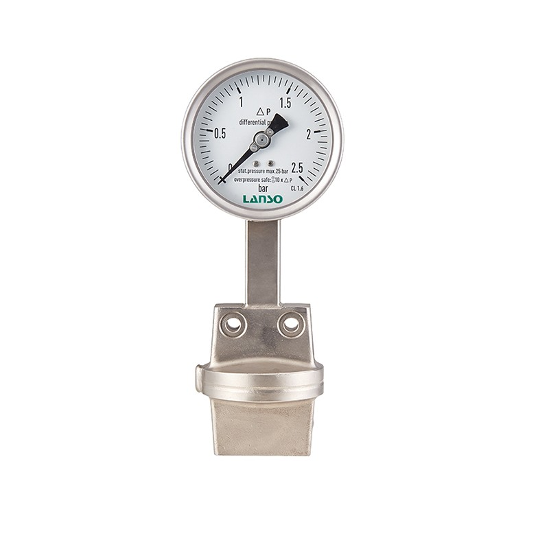 Stainless Steel Diaphragm Differential Pressure Gauge